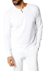 Good Man Brand Athletic Slim Fit Henley White