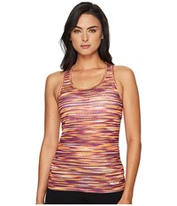 Marmot Intensity Tank Top Deep Plum Sprint Women's Sleeveless Orange