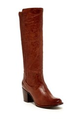 Frye Lucinda Scrunch Boot Brown