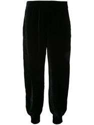 Nehera Velvet Effect Tapered Trousers Black