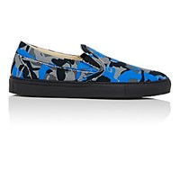 Barneys New York Men's Slip On Sneakers Blue