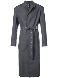 Alyx X Mackintosh Belted Trench Coat Blue