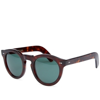 Cutler And Gross 0734 Sunglasses Dark Turtle And Dark Green