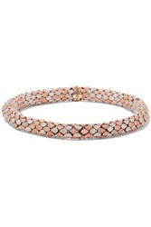 Carolina Bucci Twister 18 Karat Gold Bracelet Rose Gold