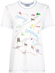 Opening Ceremony Printed T Shirt White