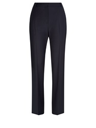 Aquascutum London Chiltern Wool Stretch Trousers Navy