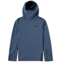 Nike Tech Fleece Pullover Hoody Blue
