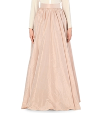 Jenny Packham Taffeta Silk Skirt Bay