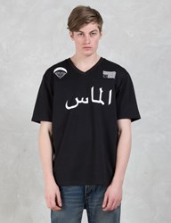 Black Scale X Diamond Supply Co. Blvck Diamond Football Jersey
