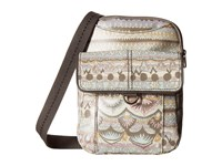Sakroots Wynnie Small Flap Messenger Pastel One World Messenger Bags Khaki