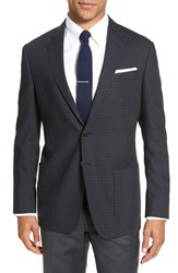 Todd Snyder Men's White Label 'May Fair' Trim Fit Check Wool Sport Coat Blue