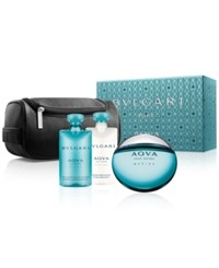 Bulgari Bvlgari 4 Pc. Aqva Pour Homme Marine Gift Set No Color