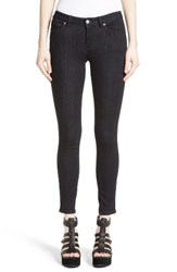 Versace Women's Collection Studded Logo Pocket Skinny Jeans