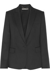 Stella Mccartney Ingrid Wool Pique Blazer Black