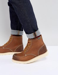 Eastland Lumber Up Leather Boots In Tan Tan