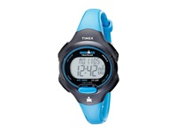 Timex Sport Ironman Blue And Black Mid Size 10 Lap Watch Black Blue Watches