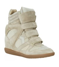 Isabel Marant Bekett Suede Wedge Sneaker Female