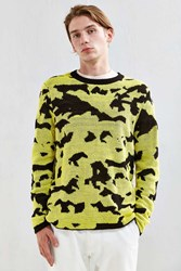 Cheap Monday Moe Pattern Crew Neck Sweater Black