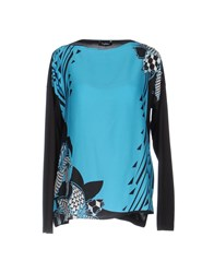Byblos Blouses Turquoise