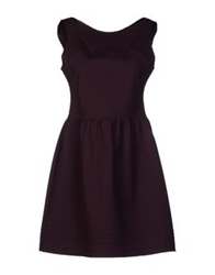 Bel Air Short Dresses Deep Purple