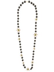 Dolce And Gabbana Lily Beaded Necklace White