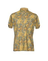 Gold Case By Rocco Fraioli Shirts Ocher