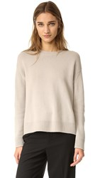Vince Boxy Cashmere Sweater Fossil