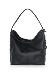 Botkier Soho Leather Hobo Bag Black