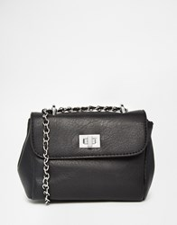 Liquorish Mini Cross Body Bag Black