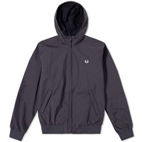 Fred Perry Hooded Brentham Jacket Blue