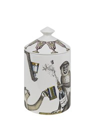 Fornasetti Apertivo Otto Scented Candle With Lid Multicolor