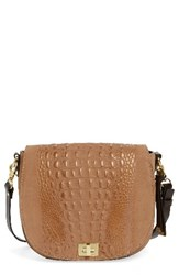 Brahmin 'Wilmington Sonny' Nubuck Leather Crossbody Bag