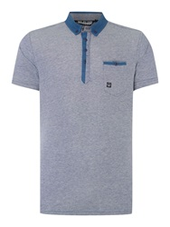 Duck And Cover Plain Polo Regular Fit Polo Shirt Blue