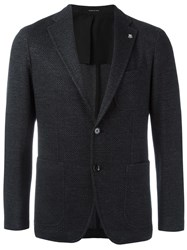 Tagliatore Single Breasted Dinner Jacket Black
