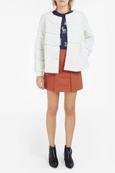 Paul Joe Women S Boucle Sheepskin Jacket Boutique1 Ivory