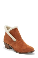 Me Too Zanna Bootie Luggage Suede