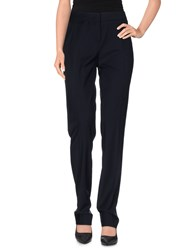 Rena Lange Trousers Casual Trousers Women Dark Blue