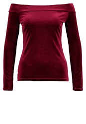 Wallis Long Sleeved Top Berry