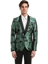 Christian Pellizzari Embroidered Floral Jacquard Jacket