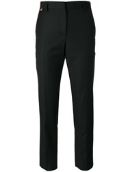 Paul Smith Tailored Cropped Trousers Black