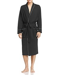 Daniel Buchler Peruvian Pima Cotton Robe Black