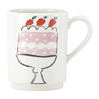 Kate Spade Pretty Pantry Accent Mug Cake