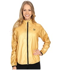 Puma Gold Windrunner Pale Gold Women's Coat