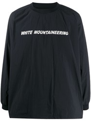 White Mountaineering Contrast Logo Sweatshirt 60