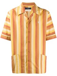 Fred Perry Nicholas Daley Striped Shirt Yellow