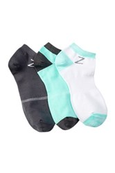 Z By Zella Nylon Sport Liner Socks Pack Of 3 Green