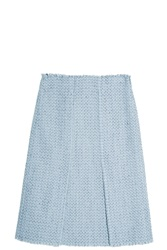 Proenza Schouler Tweed Skirt Grey