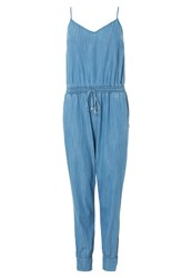 Seafolly Vesper Jumpsuit Chambray Blue Denim