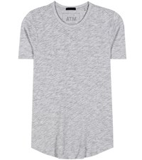 Atm Anthony Thomas Melillo Cotton Blend T Shirt Grey