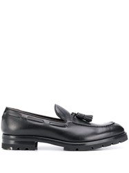Fratelli Rossetti Textured Loafers Black